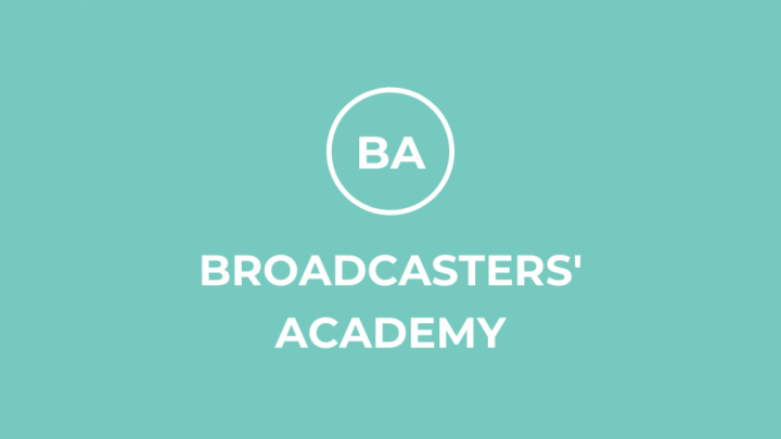 Broadcasters Academy -Small Banner